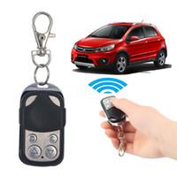 chaves automáticas universais venda por atacado-Universal elétrica sem fio Auto Remote Control Clonagem Universal Portão porta da garagem controle Fob 433MHz 433,92 MHz Key Keychain Remote Control