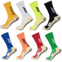 nylon-slip-socken groihandel-Fußball Socken Anti Slip Fußball Socken Männer ähnlich wie die Trusox Socken für Basketball Laufen Radfahren Gym Joggen