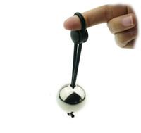 ingrosso dispositivi di castità delle barelle-Anelli del pene con gancio palla di metallo barella esercizio pene extender ingrandimento cock ring maschio castità dispositivo giocattoli del sesso per gli uomini