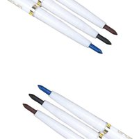 Wholesale Sexy Pen - Natural Eye Liner Long-lasting Makeup Sexy Lady Beauty Black Brown Blue Eyeliner Liquid Pen Pencil Waterproof