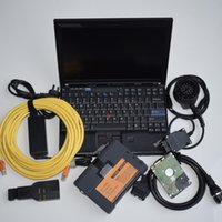 Wholesale Bmw Ista Software - Best for bmw icom a2 with laptop + ista d p V2018.03 + X201 ready to work 3in1 programming & diagnostic DHL free