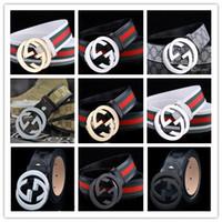Wholesale vintage leather jeans belt mens online - Brand men Belts for personality Mens Genuine Leather Male Women Jeans Vintage High Quality Strap Waistband