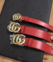 9200effd171 rouge véritable ceinture ceinture de qualité supérieure femmes et hommes