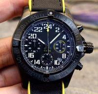 Wholesale premium watches for sale - Group buy 2019 new Mens Watch quartz movement chronograph Black Dial L Premium Stainless Folding Clasp Mens Sport Watches