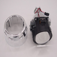 Wholesale projector kit hid online - HID Bi xenon Projector Lens quot Inch Headlight Xenon Kit h4 White k Shroud easy installation