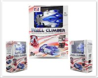 Wholesale race car wall for sale - RC WALL CLIMBER CAR Remote Control Wall Floor Climbing Racing Cars Toy Electric toys Children Toys with Remote control C