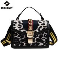 Wholesale messenger bag across resale online - DOLOVE Fashionable New Style Women s Bags Leopard Print Messenger Bags Single shoulder Slanted Across Handbags