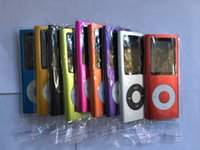Wholesale real player free resale online - Hot Sale Cheap Real Capacity GB Slim quot th LCD MP3 MP4 Player FM Radio Video Multi Colors DHL Free