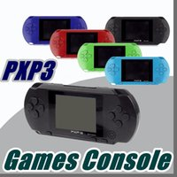 Wholesale game cartridges - DHL Factory Wholesale PXP Games Console Handheld PVP Retro TV-Out Video Game Cartridges PXP Gaming Console B-ZY