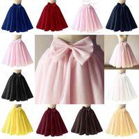 Wholesale red tutus for sale for sale - Group buy Hot sale Short Tulle Petticoat Crinoline Vintage Wedding Bridal Petticoat for Wedding Dresses Underskirt Rockabilly Tutu CPA1092