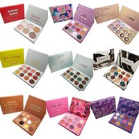 Wholesale charm color cosmetics - Charming modeling Cosmetics eyeshadow palettes ColourPop 9 style 12 fashiond color eyeshadow palette