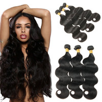 Wholesale malaysian human hair for weaving resale online - 8a Malaysian Human Hair Weaves Bundles Human Hair Bundles Body Wave Unprocessed Virgin Hair Extensions for Black Woman quot quot
