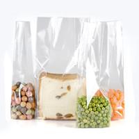 Wholesale chocolate wedding gifts - OPP Bags Super Clear Flat Cello Cellophane Treat Bags Gift Party Wedding Bags for cookies chocolate square bottom