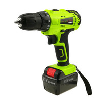 Wholesale electric screwdriver cordless - YIKODA 21V Electric Screwdriver Cordless Driver Drill Household Rechargeable Lithium Battery Multi-function Power Tools Free Shipping