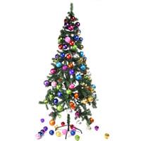 2f1987776544a 24 UNIDS 4 CM Bolas de Árbol de Navidad Adornos de Bauble Bolas  Shatterproof Árboles de Navidad Colgantes Decoraciones Bolas Para la Fiesta  de vacaciones ...