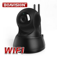 Wholesale 720P Wireless IP WIFI Camera Wireless Security PTZ IR Night Vision Audio Recording Surveillance Network Baby Monitor iCSee