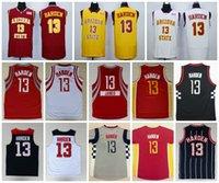 Wholesale usa cities - Best Quality 13 James Harden Jerseys Uniforms 2014 USA Dream Team James Harden College Basketball Jerseys Red Pride Clutch City Movie