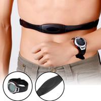 uhr gürtel beobachten großhandel-Wasserdichte Brustgurt Strap Polar Wireless Sport Pulsmesser Uhr