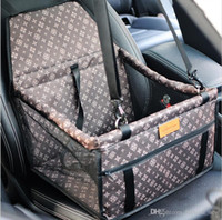 Wholesale dog crates carriers for sale - Group buy New Folding Washable Hammock Car Mat Seat Cover Bag Crate Storage Pocket For Dog Cat Pet Rear Single Seat Pads Size cm