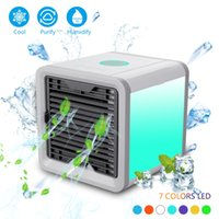 Wholesale usb desk - NEW Air Cooler Arctic Air Personal Space Cooler The Quick & Easy Way to Cool Any Space Air Conditioner Device Home Office Desk