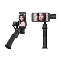 cep telefonu videoları toptan satış-Beyondsky Eyemind Elektronik akıllı sabitleyici 3-axis Gyro El Gimbal Sabitleyici dhl tarafından Cep telefonu kamera için anti-shake video kamera