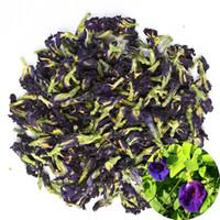 Organic Dried Pure Butterfly Pea Flowers, Natural Clitoria ternatea Herbals Blue Tea Wholesale, Top Grade