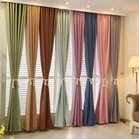 tejido de lino teñido de hilo al por mayor-Cortinas de lino de terciopelo teñidas con hilo al por mayor y productos de cortinas a medida