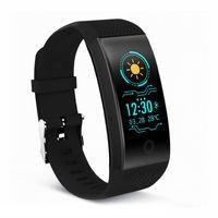 intelligentes sportarmband großhandel-QW18 Smart Armband Intelligente Sport Armband Fitness Schlaf Tracker IP68 Pulsuhr Outdoor Smartband universal 2018