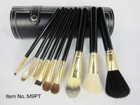 Wholesale cup holder free shipping resale online - Factory Direct Dhl New Makeup Brushes Pieces Brush With Black Cup Holder Case