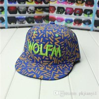 749dbc5b4ce 2019 star love Oh Se-hoon same style hat EXO surrounding WOLF-M Lee Min-woo  hippie myth wolf hat hip hop cap embroidery