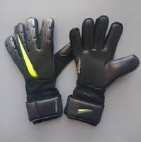 Wholesale 2019 Newest VG3 NK Logo Goalkeeper Gloves without fingersave Top Latex Soccer Football Gloves latex Plam Goal Keeper Gloves Bola De Futebol