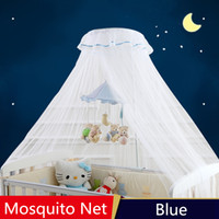mosquito net canopy for cribs Canada - Hanging Round Top Mosquito Net For Infant Crib ,Netting Tent Baby Bed ,mosquiteiros infantis,Canopy Baby Bed ,Summer Protector