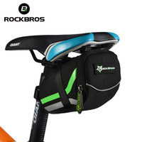 Wholesale Panniers Road Bike - ROCKBROS Bicycle Bag Mountain Road Bike Saddle Bags Anti-scratch Cycling Riding Seat Post Rear Panniers Bicycle Accessories MTB