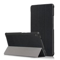 Wholesale tablet case for lenovo for sale - Group buy Tri folding PU Leather Case Flip Cover for Lenovo Tab TB F TB N Tab Plus TB F TB N Tablet
