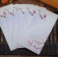 ingrosso giappone busta-Vendita calda 215 * 110 MM.retro stile giapponese Magnolia Series divertimento fai da te Art busta.Postcard bag.Gift buste.