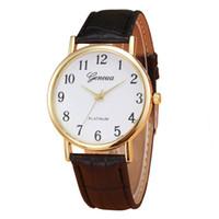 leather bracelet women wrist watches Australia - Women Watches relojes mujer Hotting Fashion Women Faux Leather Analog Quartz Wrist Watch Bracelet Watch Ladies Clock # W