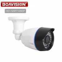 Wholesale camera osd menu for sale - 1 MP MP CCTV AHD Camera Hybrid CVI TVI CVBS IN NightVision P P HD Bullet Security Camera Waterproof With OSD Menu