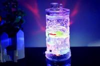 óleo lanternas vidro venda por atacado-Lanterna de vidro acrílico Ssangyong hookah Bongos de vidro por atacado Queimador de óleo Tubos de água de vidro Oil Rigs Smoking Free