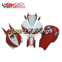 honda cbr yarış fairing toptan satış-Yeni Fiberglas Yarış ABS Enjeksiyon Motosikletler Honda CNR600RR CBR 600RR F5 2007 Için Tam Kaporta Kiti 2007 2008 Bodywork Parlak Kırmızı Beyaz ...
