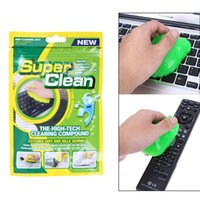 Wholesale magic keyboard cleaner - Magic Innovative Super Dust Keyboard Cleaner Cleaning Tool Magic Gel High Tech Cleaning Compound Gel For Computer