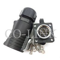 Wholesale male automotive connector - LP20 IP67, 9pin 10pin 12 pin Waterproof Connector Plug (Female) & Socket (Male), Power Cable Automotive Connectors Male and female