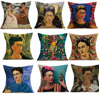 Wholesale hotel figures - Shemale figure colorful pillows printed waist high quality pillowcase cushion pillow for hotel home decor pillow cover sixe 45*45cm