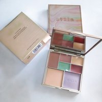 Wholesale perfect stockings - IN STOCK!!makeup Stila Correct&Perfect ALL IN ONE color Correcting Palette Concealer contour 12.9g Cream&Pressed powder Palette Epacket