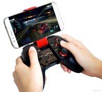 bluetooth gamepad handy großhandel-Neues Design Wireless Bluetooth Gamepad Joystick Spiel Gaming Controller Fernbedienung Für Handy Android 3.0 IOS 9.2.1 Einzelhandelspaket