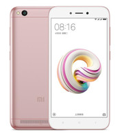 "Wholesale display 4g - Refurbished Original Xiaomi Redmi 5A Unlocked Cell Phone Quad Core 2GB 16GB 5.0"" HD Display 13.0 MP 4G LTE"