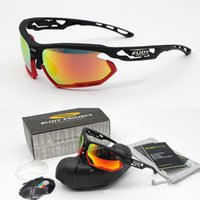 Wholesale mountain bike riding glasses - New RUDY Riding Glasses Sports Mountain Bike Glasses Polarized Sunglasses Men and women fotonyk