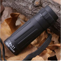Wholesale Compact Monocular - 8x21 131M 1000M Telescope Handy Scope Sports Camping Hunting Pocket Compact Monocular Binoculars Telescope Party Favors CCA8651 300pcs