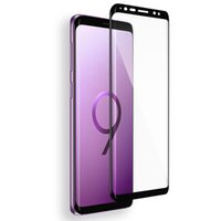 koruyucu film bedava toptan satış-20 Adet Yeni Temperli Cam 3D 9 H Tam Ekran Kapak patlamaya dayanıklı Ekran Koruyucu Film Samsung Galaxy S9 + S9 Artı ePacket Ücretsiz Kargo