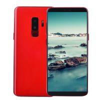 karte 128 großhandel-Zeigen Sie 4G LTE Octa Core 6,2 Zoll Vollbild 2560 * 1440 Goophone S9 + Plus Klon 64 GB 128 GB 256 GB Gesichts-ID Fingerprint Back 2.5D Glass Smartphone