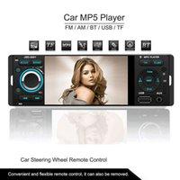 автомобильный сенсорный экран оптовых-4.1-дюймовый TFT 1080P сенсорный экран в тире радио, Bluetooth, MP3 / MP4 / MP5/USB/SD AM / FM стерео поддержка USB вход беспроводной пульт дистанционного управления